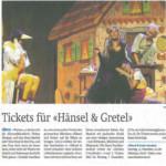 2015.12.03 Tickets für Hänsel und Gretel